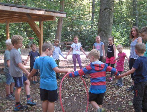 Outdoor-Games im Freiburger Waldseilgarten